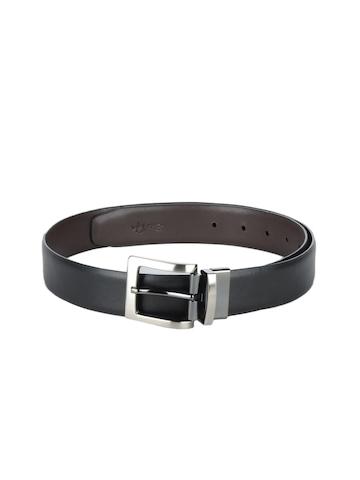 Reid & Taylor Men Black & Brown Reversible Belt