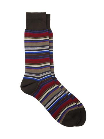 Reid & Taylor Men Stripes Multi Socks