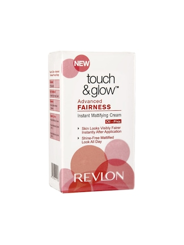Revlon Touch & Glow Advanced Fairness Oil-Free Instant Mattifying Cream