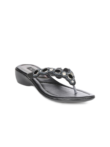 Rocia Women Black Flats
