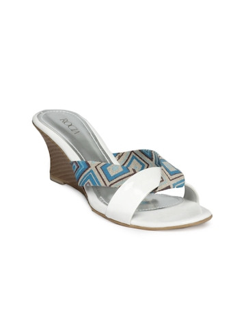 Rocia Women White Wedges