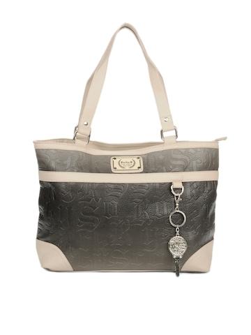 Rocky S Women Grey Handbag