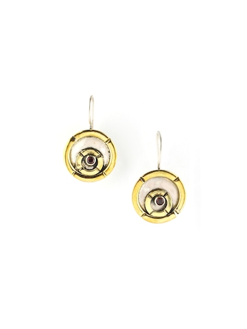 Rreverie Golden Earrings