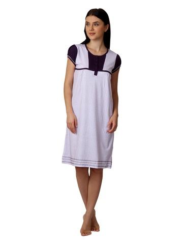 SDL by Sweet Dreams Women Purple Nightdress