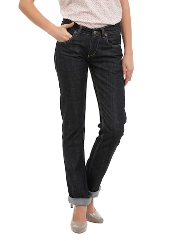 Spykar Women Renegade Navy Blue Jeans