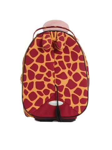 Samsonite Kids Unisex Maroon Trolley Bag