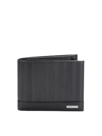 Samsonite Men Black Horiz Wallet