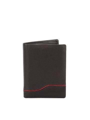 Samsonite Men Brown Electic Wallet
