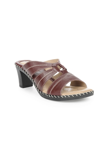 Senorita Women Maroon Heels