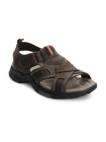 Skechers Men Brown Sandals