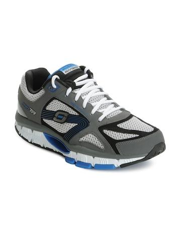 Skechers Men Grey Sports Shoes