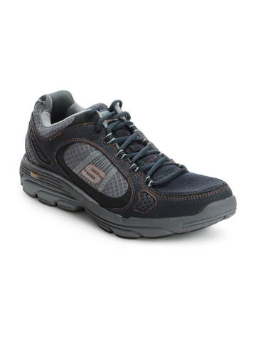 Skechers Men Navy Blue Sports Shoes