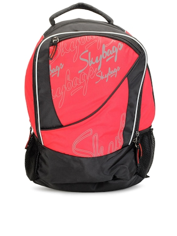 Skybags Unisex Red Backpack