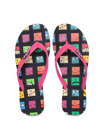 Sole Threads Women Navy Flip Flops