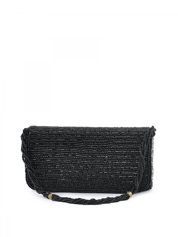 Spice Art Women Casual Black Evening Clutch