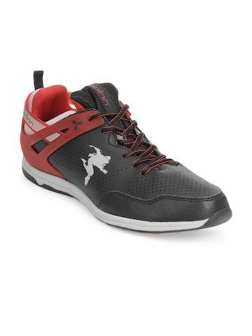 buy spinn men black raptor casual shoes  288  footwear