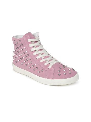 Steve Madden Women Pink Twynkle Shoes at myntra