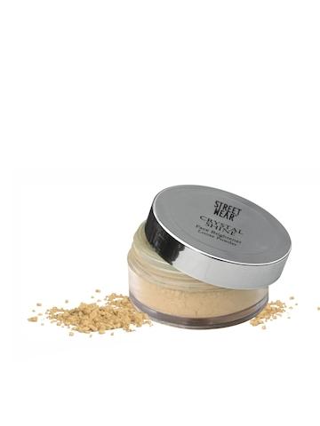Streetwear Crystal Shine Gold Face Brightener Loose Powder