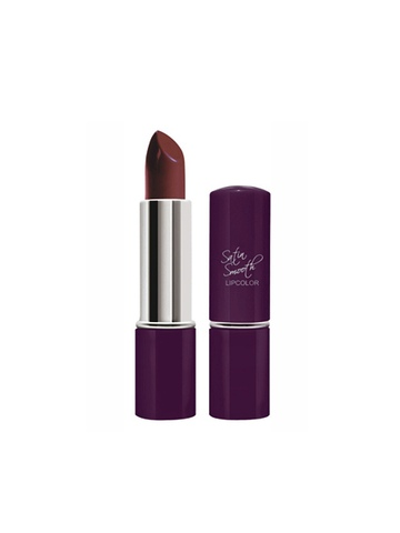 Streetwear Satin Smooth Miss Maroon Lipstick 10