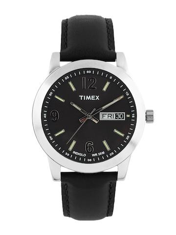 Timex Men Black Dial Watch