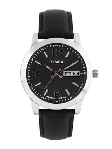 Timex Men Black Dial Watch