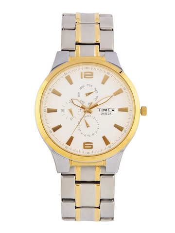 Timex Men White Dial Watch TI000K10600