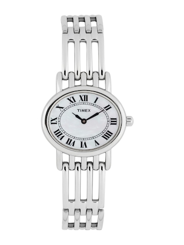 Timex Women White Dial Watch