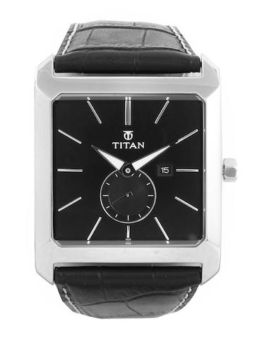 Titan Men Black Watch