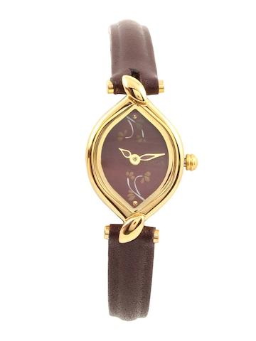 Titan Women Burgundy Watch