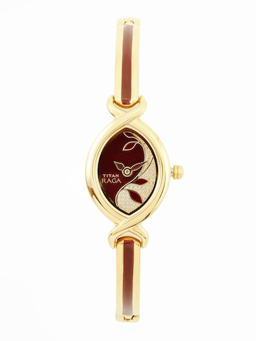 Titan Women Maroon Watch
