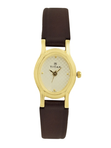 Titan Women Gold Watch