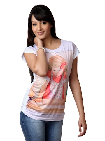 Tokyo Talkies Women Multi Coloured T-shirt