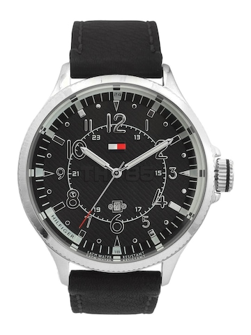 Tommy Hilfiger Men Black Watch NTH1790734-D