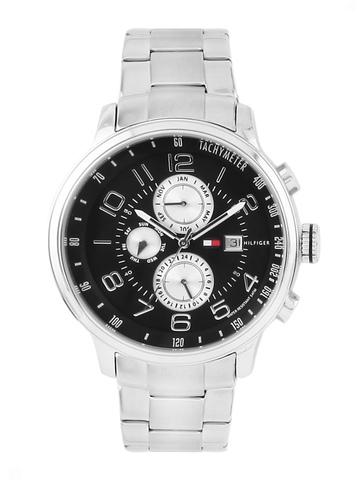 Tommy Hilfiger Men Black Dial Chronograph Watch TH1790860-D