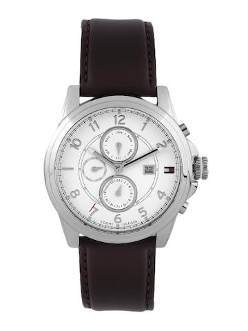 Tommy Hilfiger Men White Chronograph Watch TH1710294-D