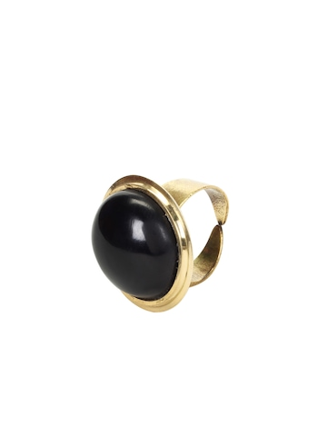 ToniQ Women Black Ring