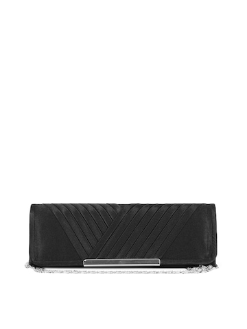 ToniQ Women Black Clutch