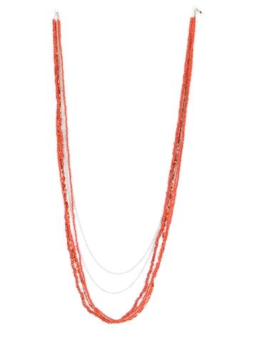 ToniQ Women Orange Necklace