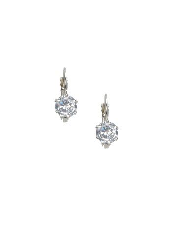ToniQ Women Silver Earrings
