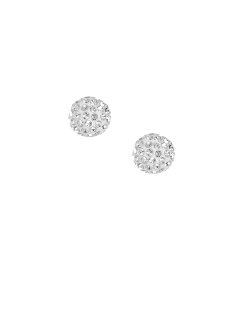 ToniQ Women Silver Earrings