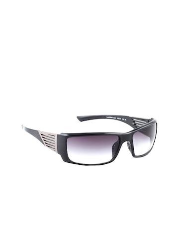 United Colors of Benetton Men Black Sunglasses