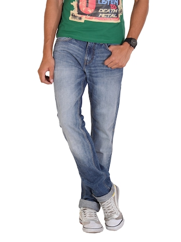 United Colors of Benetton Men Blue Jeans