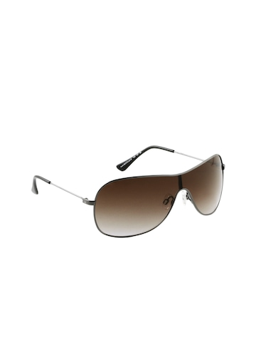 United Colors of Benetton Men Brown Sunglasses