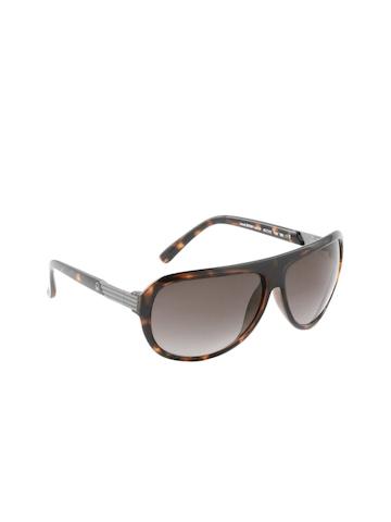 United Colors of Benetton Men Brown Sunglasses