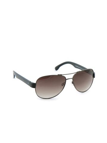United Colors of Benetton Men Funky Eyewear Brown Sunglasses