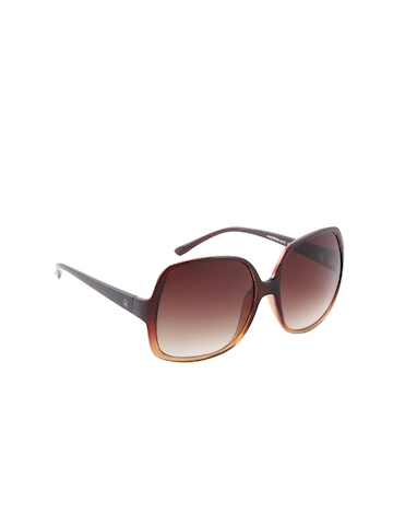 United Colors of Benetton Women Brown Sunglass