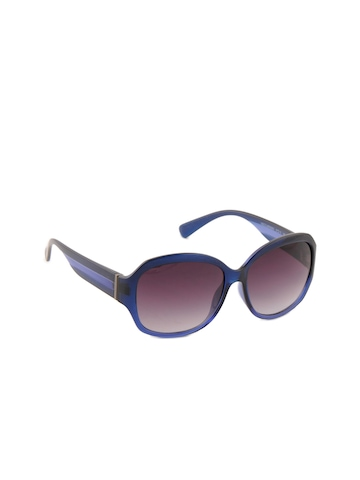 United Colors of Benetton Women Funky Blue Sunglasses