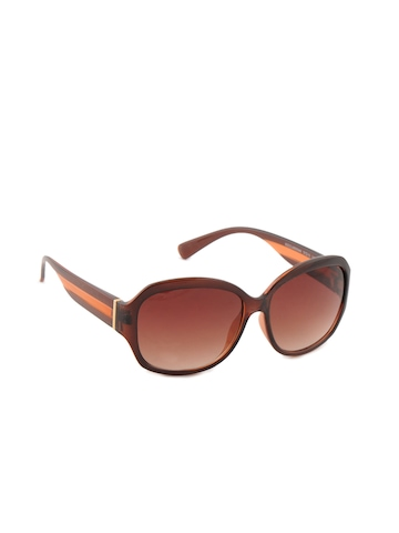 United Colors of Benetton Women Funky Brown Sunglasses