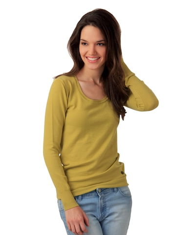 United Colors of Benetton Women Lime Green Top