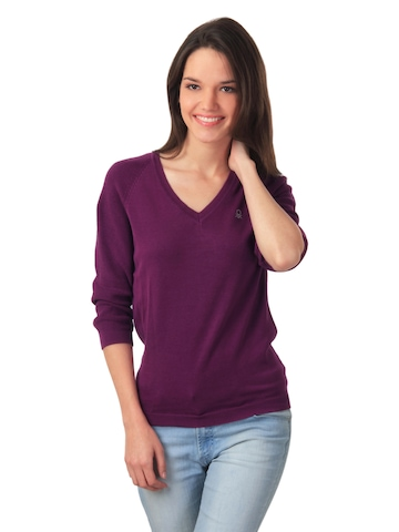 United Colors of Benetton Women Purple Top